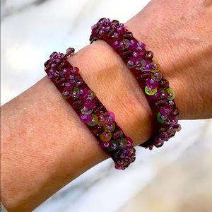 EUC Vintage Anna Sui choker or bracelet